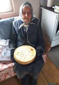Vitalna baka Stoja Miljanić iz Sikova proslavila 101. rođendan