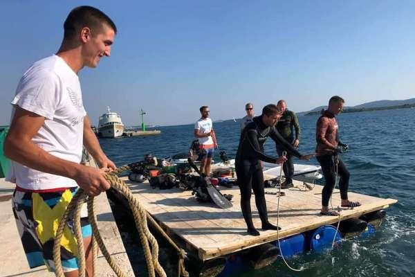 Akcija čišćenja podmorja u Turnju