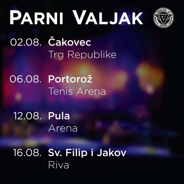 Poklon - koncert PARNOG VALJKA