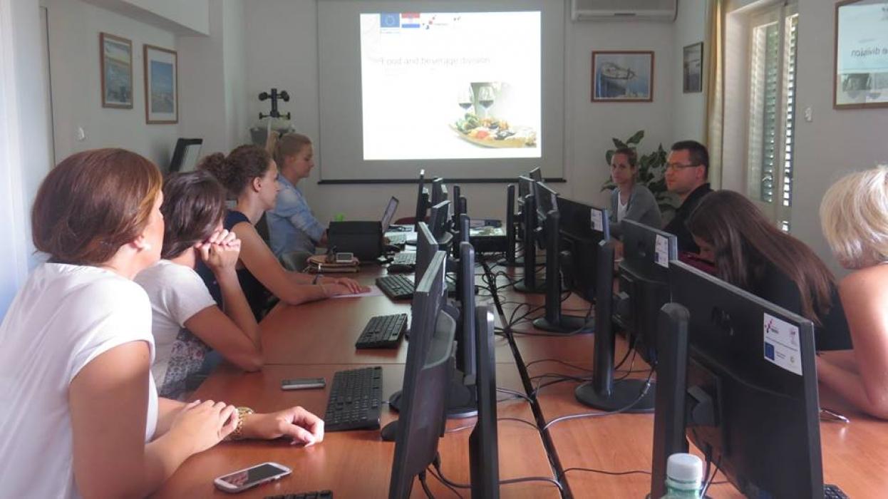 Edukacijski program Vještine osobne prezentacije s terminologijom iz turističkog sektora
