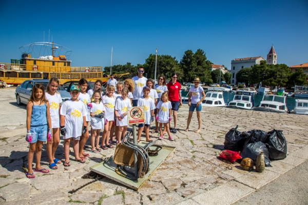 """U Sv. Filipu i Jakovu održana akcija čišćenja podmorja """"More i Mi"""""""