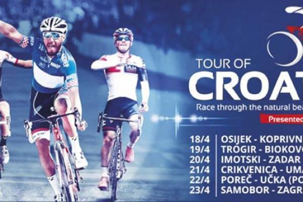 """""""Tour of Croatia"""" - promet obustavljen od 14:40 do prolaska utrke"""