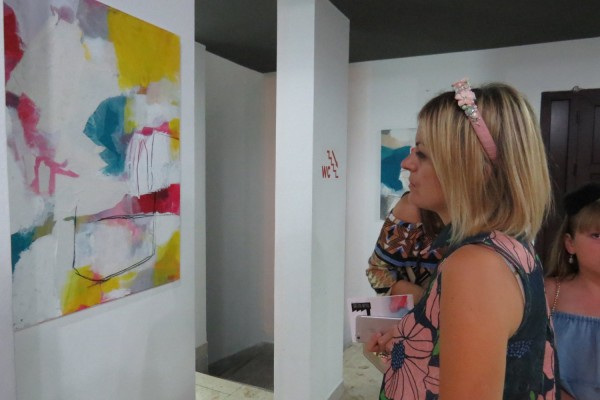 Otvorenje izložbe Jakova Đinđića