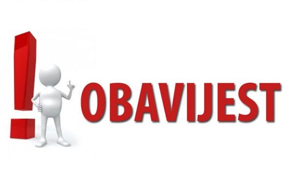 Priopćenje Stožera civilne zaštite Zadarske županije