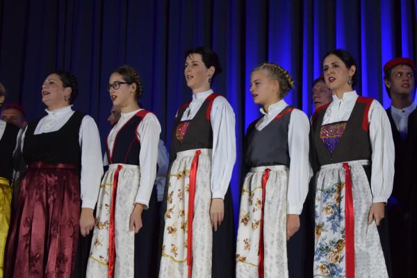 """Održan tradicionalni  Božićno-novogodišnji koncert """"Osluhni nutarnje zvono""""."""