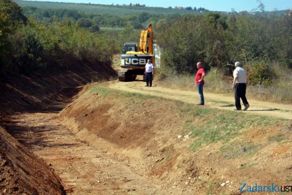 Gradit će se most preko Kotarke između Lužina i Zrilića