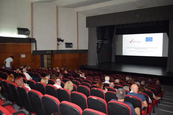 Završna konferencija projekta K.IN.O. u Sv. Filipu i Jakovu: Suradnjom udruga, europskih fondova i Općine Sv. Filip i Jakov stvoren multifunkcionalan centar kulture